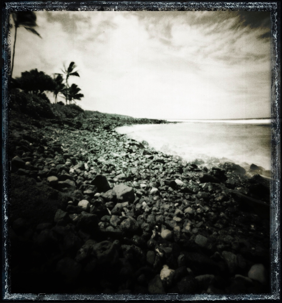 Poipu Beach (Pinhole Camera) - Kauai