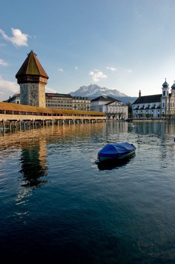 Waterbridge - Lucerne, Switzerland